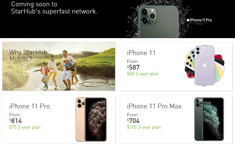 Starhub First To Release Iphone 11 And 11 Pro Price Plans