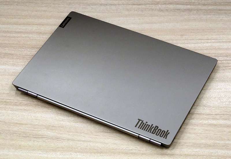Despite the price, the ThinkBook 13s has an all-aluminium construction.