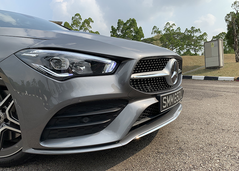 "Gotta love that AMG ""diamond"" grille."