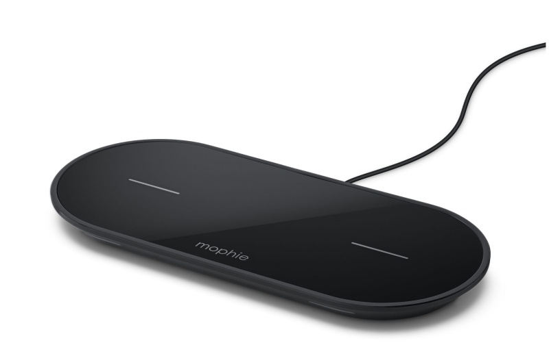 The mophie wireless charging dual pad is priced at S$149.