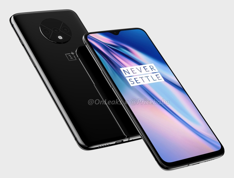 Purported render of the OnePlus 7T.