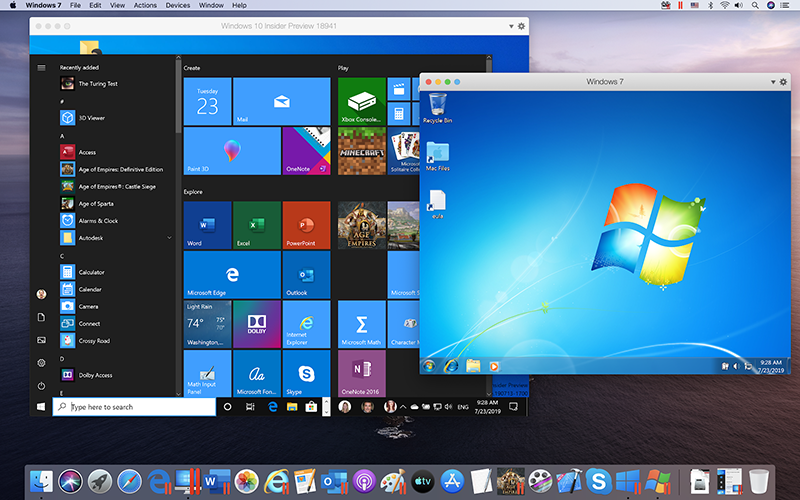 Parallels Desktop has always been about tight integration with macOS and the Parallels Desktop 15 is no different.