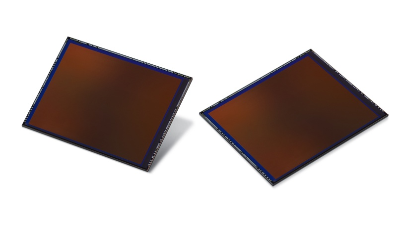 The 108MP Samsung ISOCELL Bright HMX mobile image sensor. <br>Image source: Samsung
