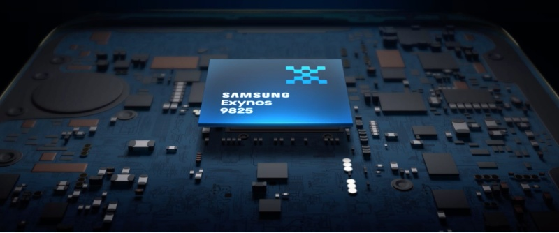 The Samsung Exynos 9825 chipset.