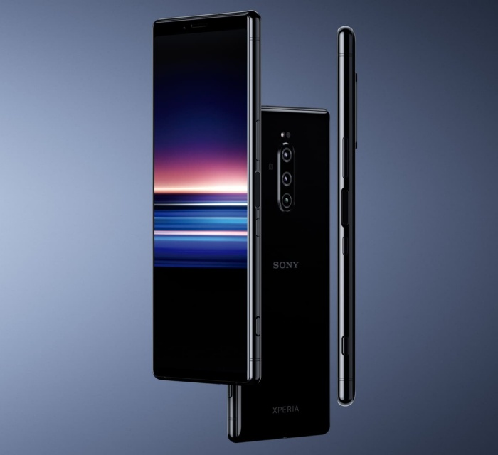 The Sony Xperia 1 phone.