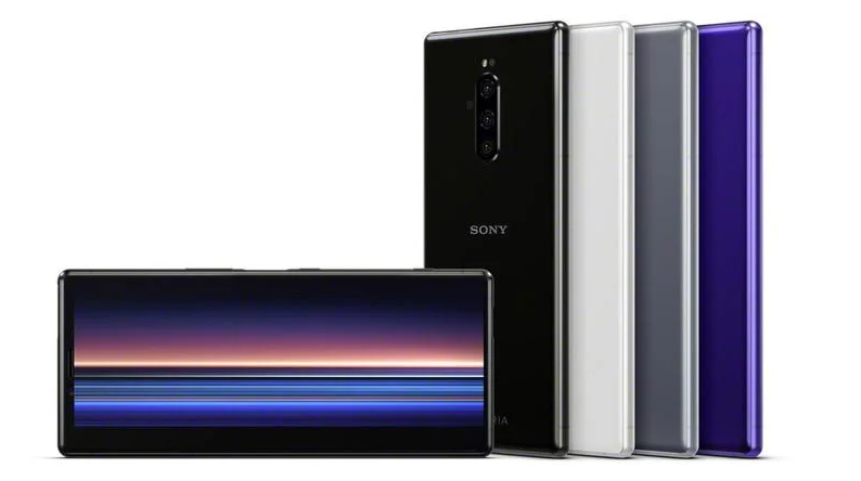 The Sony Xperia 1 smartphone.