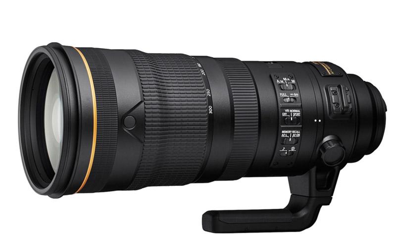 AF-S NIKKOR 120-300mm f/2.8E FL ED SR VR lens. (Image: Nikon.)