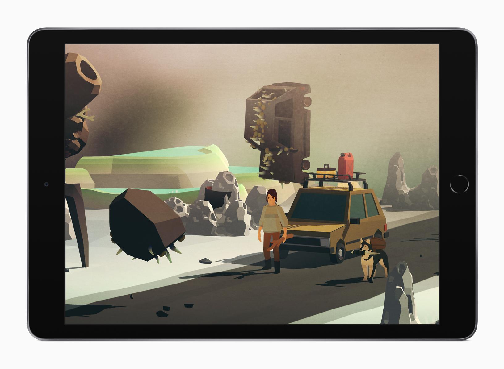 Overland on iPad.
