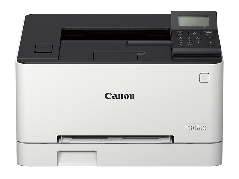The 21ppm Canon imageCLASS LBP623Cdw color laser printer supports both wired and wireless networking as well as auto duplex printing. (Image: Canon.)