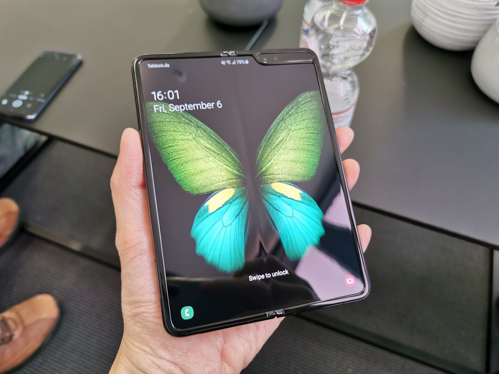 The Samsung Galaxy Fold will be available in Singapore on 18 September.