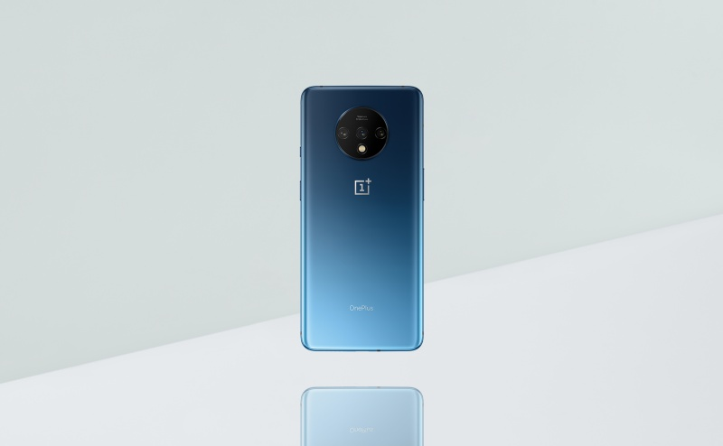 The OnePlus 7T. <br>Image source: OnePlus