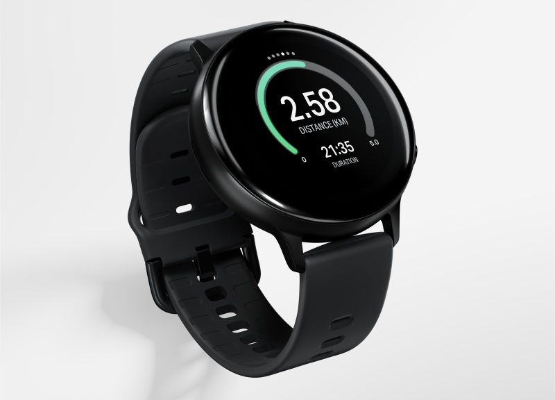 The exclusive Samsung Galaxy Watch Active2 Under Armour Edition.