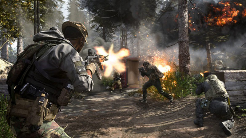 Call of Duty: Modern Warfare is a first-person shooter developed by Infinity Ward.