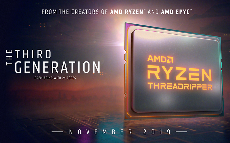 AMD Threadripper third gen