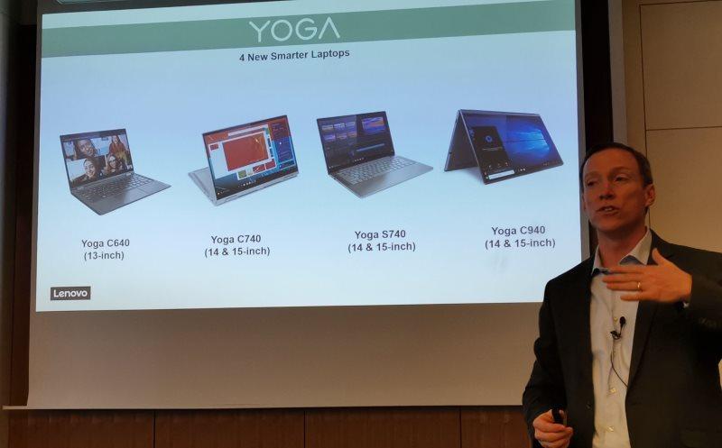 Lenovo Yoga laptops get Intel 10th Gen Icelake CPUs, Project