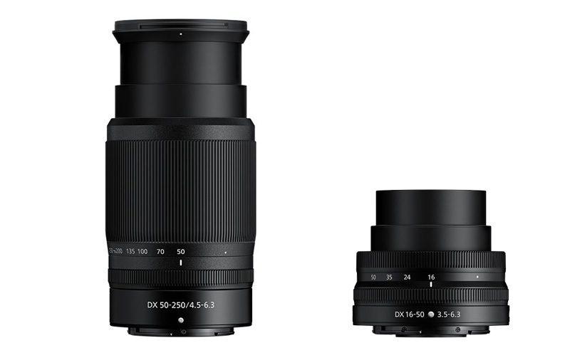 These are the first APS-C lenses for Nikon's Z series.