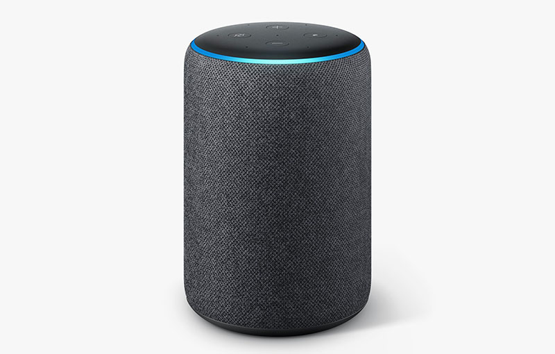 A second-generation Amazon Echo Plus (Image source: Amazon)