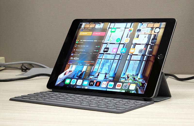 With the Smart Keyboard, the iPad could even replace your desktop or notebook.