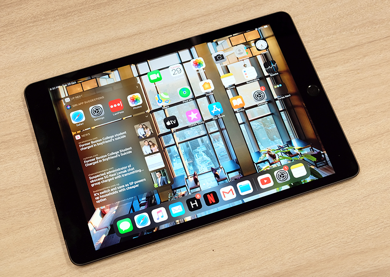 Apple's updated entry-level iPad has a larger 10.2-inch display and a Smart Connector.