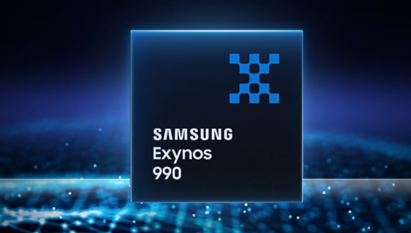 The Samsung Exynos 990 chipset. <br>Image source: Samsung