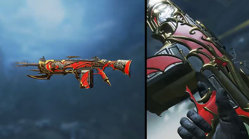 The legendary Nocturnal Elegance skin for the Devotion. (Image Source: Respawn Entertainment)