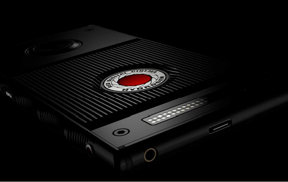The Hydrogen One smartphone by RED.