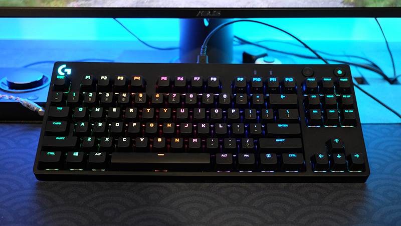Logitech G Pro X mechanical keyboard review: Have fun swapping out ...