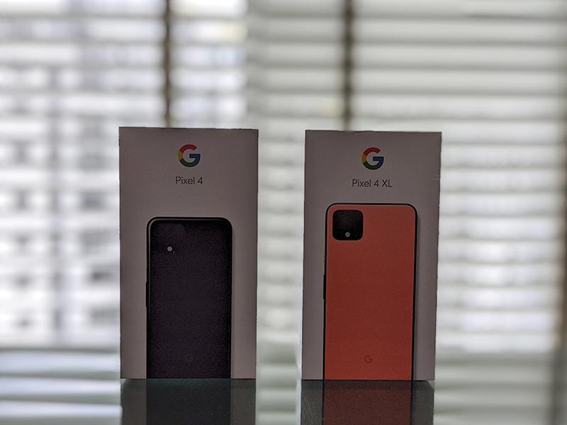 Google Pixel 4 box