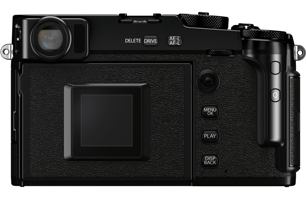 If you don't flip out the rear screen, the X-Pro3 looks much like a film camera.