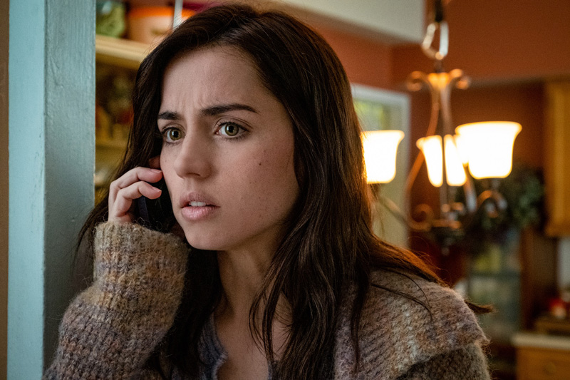 Ana de Armas is fantastic here - and you'll see her with Daniel Craig again next year in 007's next outing - No Time to Die.