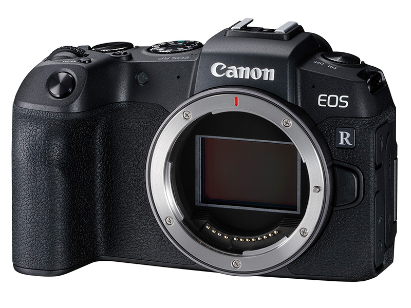 The Canon EOS RP is Canon's smallest and lightest EOS full-frame camera to date.
