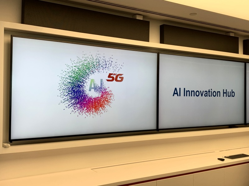 Huawei's new AI lab is located at their office in Singapore