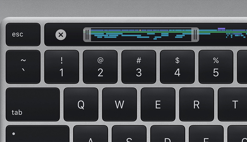 The new 16-inch MacBook Pro has a physical Esc key. (Image source: Apple)