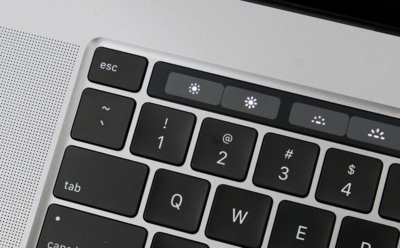 Yes, a physical Esc key! Now, if only they would remove the Touch Bar entirely...