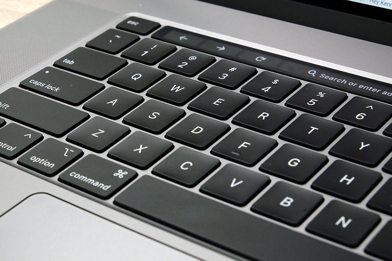 This new keyboard is much better to type on.
