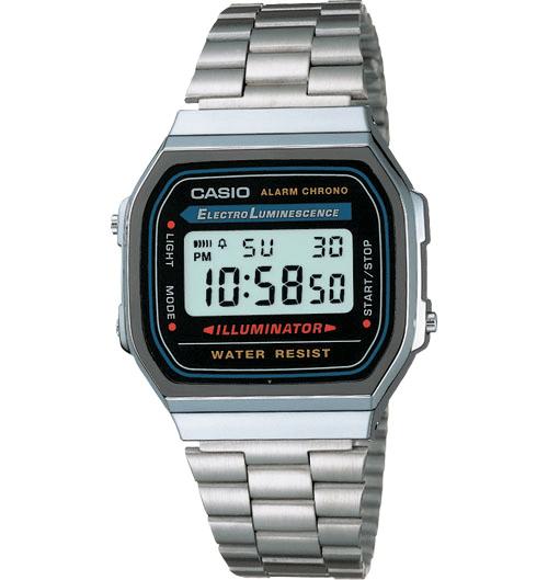 The Casio A168W-1 (Image source: Casio)