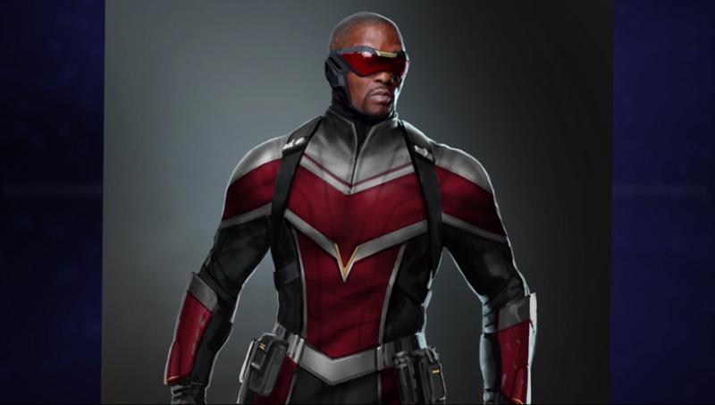 Sam Wilson won't be taking Captain America's mantle immediately in the show.