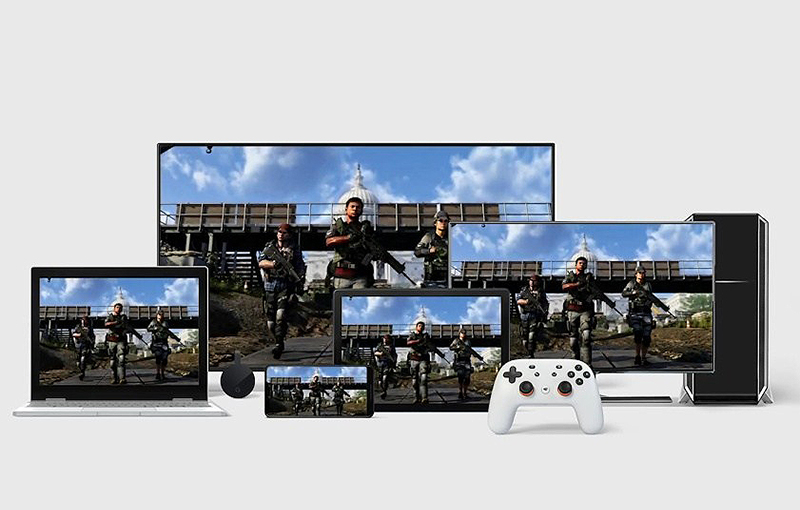 Cloud gaming will let you play your favourite games on any device. (Image source: Google)