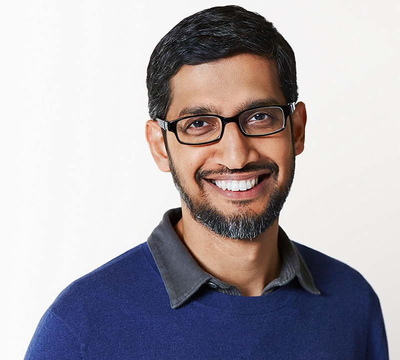Sundar Pichai is now the CEO of Google and Alphabet