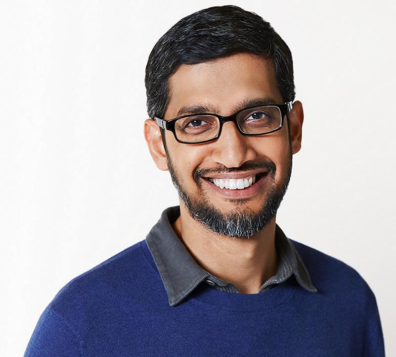Sundar Pichai is now the CEO of Google and Alphabet