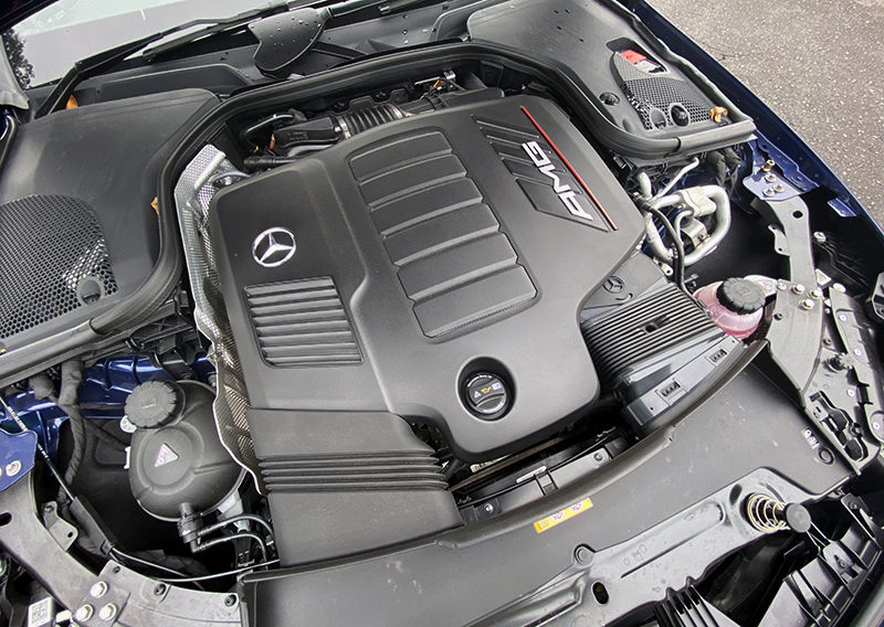 The 3-litre turbocharged inline six is magnificent.