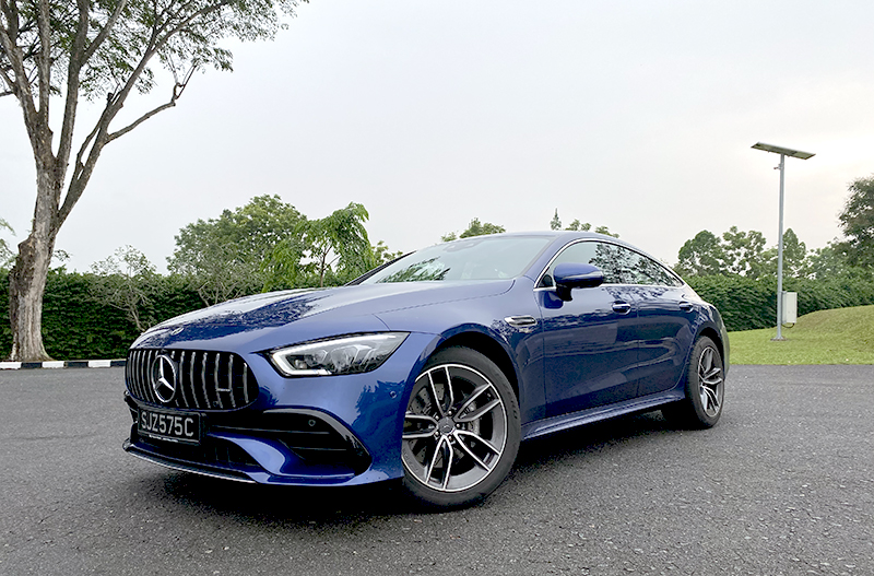 The AMG GT 4-Door Coupé is Mercedes' most luxurious and outrageous super saloon.