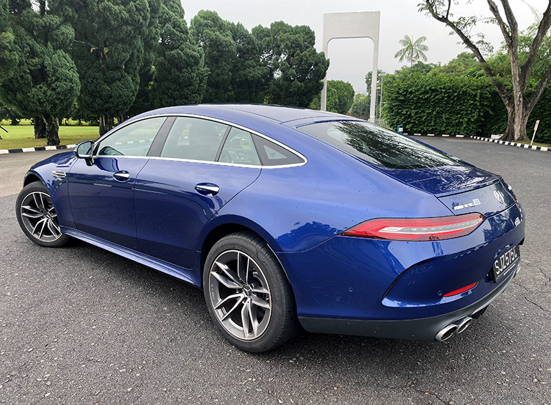 The AMG GT 53 4-Door is fabulously expensive but I think those lucky enough to afford one will find it downright fabulous.