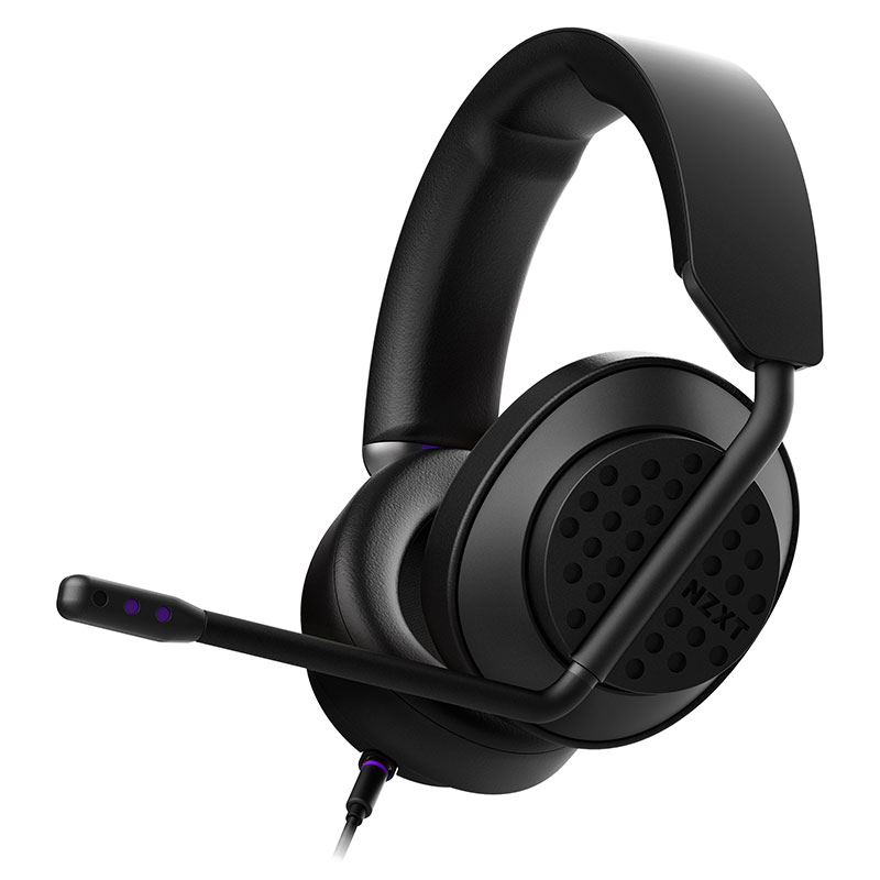NZXT Aer headset open