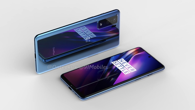 Another purported render of the OnePlus 8 Lite.