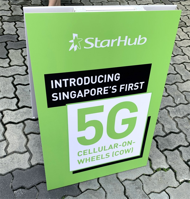 Are you ready for this StarHub 5G COW?