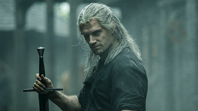 Geralt of Rivia fights humans and monsters alike in Netflix's The Witcher!