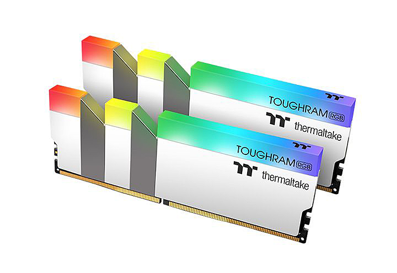 Toughram RGB Memory DDR4 3200MHz 16GB (8GB x 2) (Image source: Thermaltake)