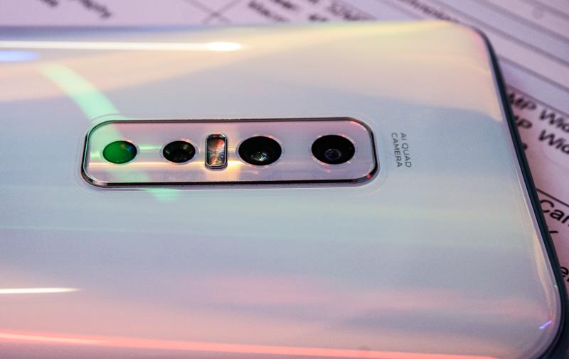 Behold the Vivo V17 Pro's quad-camera system.