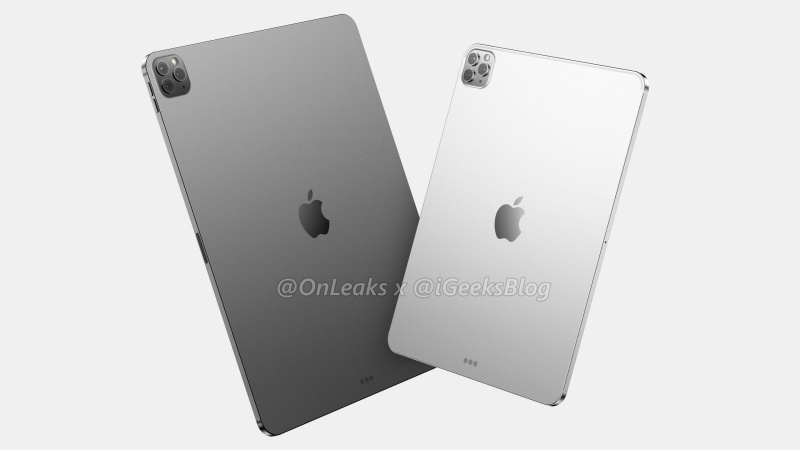 The upcoming 12.9-inch iPad Pro (left) and 11-inch iPad Pro.